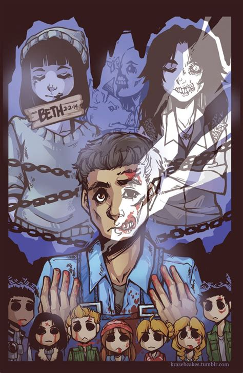 Until Dawn Art done by KrazyD on DeviantArt :) Until