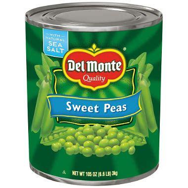 Del Monte Sweet Peas (105 oz. can) - Sam's Club