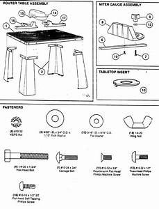 Craftsman Router Table Parts