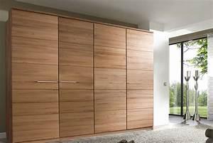 Massivholz Kleiderschrank Buche : kleiderschrank massivholz m h 2 6 t rig buche o kernbuche f6 ~ Markanthonyermac.com Haus und Dekorationen
