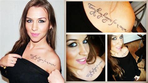 tatouage mon er tatouage temporaire revue  youtube