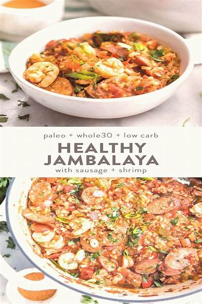 Jambalaya Paleo Recipe Whole30 Healthy Carb Low