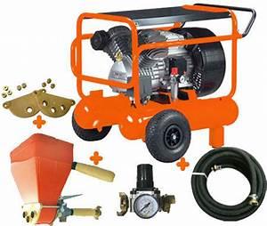 Machine A Projeter Enduit Facade : location sablon compresseur cr pir sur bricolib location ~ Dailycaller-alerts.com Idées de Décoration