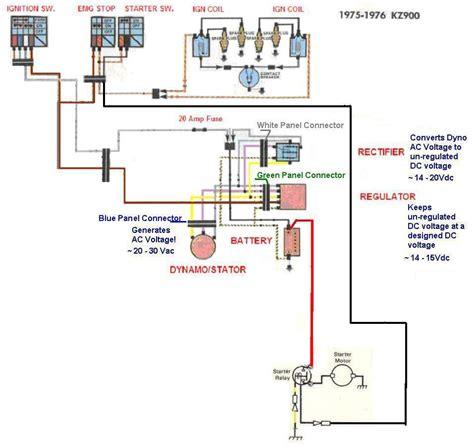 kz simple wiring diagram kzrider forum