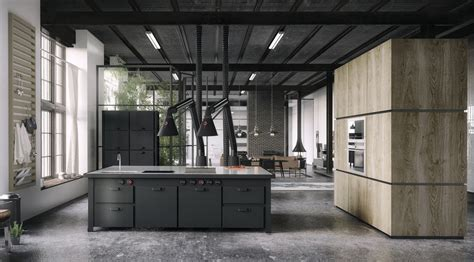 industrial kitchen ideas 20 sleek kitchen designs with a beautiful simplicity
