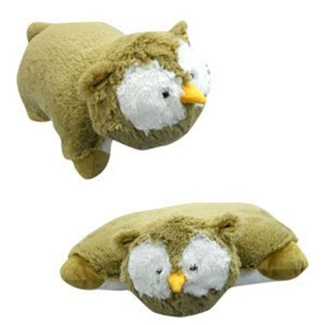 small pillow pets buy small owl pillow pet quot plush plush quot brand 11