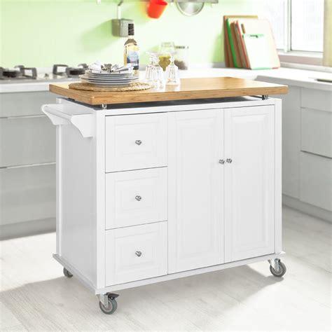 küchenwagen mit arbeitsplatte sobuy neu luxus k 252 chenwagen arbeitsplatte aus hochwertigem bambus k 252 cheninsel k 252 chenschrank