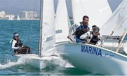 Sailing Regatta International Nearly Its Boat Yacht