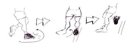 dibujo de educacion fisica de desplazamiento dibujo de educacion fisica de desplazamiento una