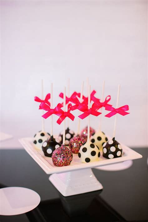 colorful kate spade inspired nye ideas food desserts