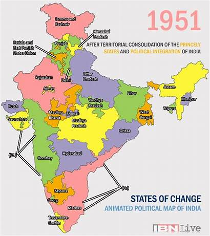 Union Indian State Territory Evolution Boundaries Redd
