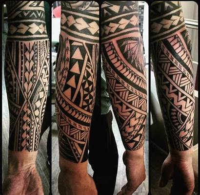Tattoo Polynesian Tattoos Tribal Samoan Forearm Kaplama