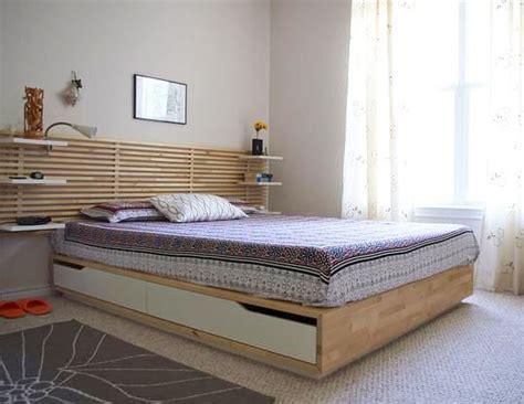 tete de lit tressee t 234 te de lit en bois massif home chambre ikea projecteurs et haut parleurs