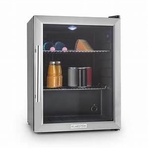 Mini Kühlschrank Glas : beersafe xl compact fridge 65 litre class b glass door silver klarstein ~ Buech-reservation.com Haus und Dekorationen