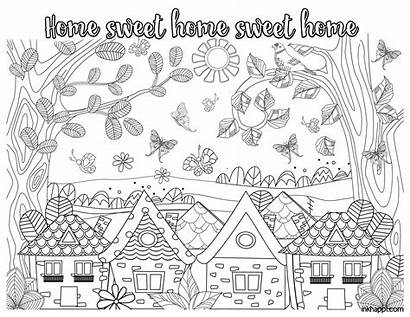 Coloring Sweet Pages Relax Enjoy Inkhappi