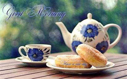 Tea Morning Wallpapers Latest Breakfast Quotes Donuts