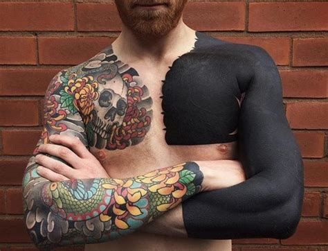 black with color tattoos 100 delightful blackwork designs redefining the