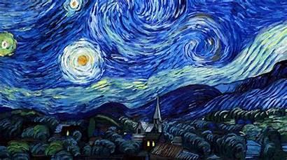 Gogh Vincent Loving Night Starry Dir Dorota