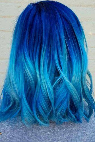 And Blue Hairstyles by 21 Blue Ombre Hair Styles For Daring My Stylish Zoo