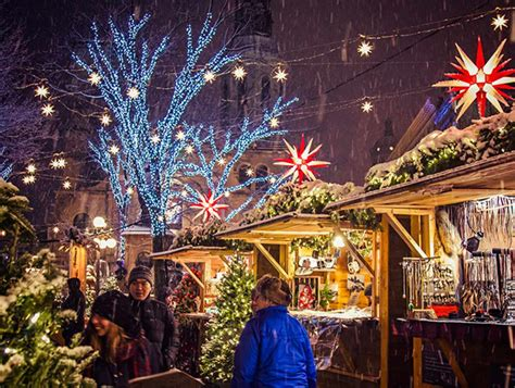 German Christmas Market in Québec City
