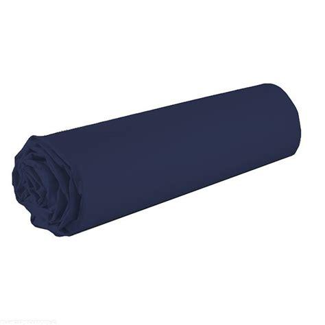 draps housse 160x200 pas cher drap housse achat drap housse 100 coton 160x200 bleu marine pas cher