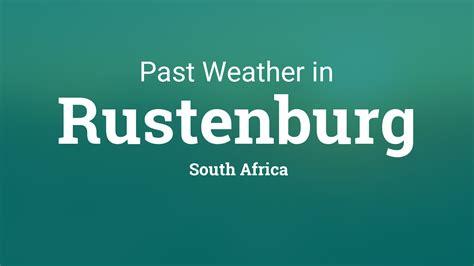 weather  rustenburg south africa yesterday