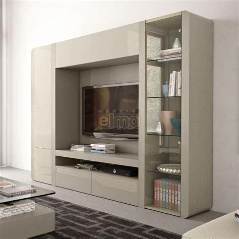 meuble mural cuisine composition murale contemporaine meuble tv living laque orchid