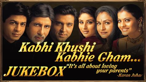 kabhi khushi kabhie gham full audio songs jukebox youtube