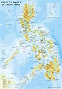 フィリピン:フィリピン地図