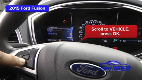 ford fusion oil light reset service light reset