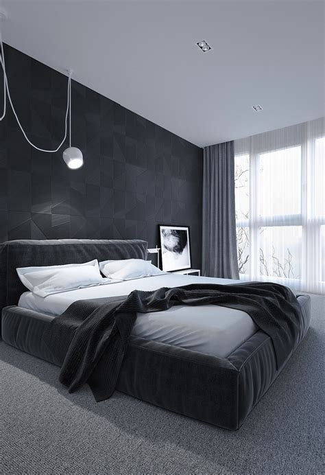 interior design black and white 6 bedrooms designs to inspire sweet dreams Bedroom