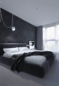 black and white bedroom 6 Dark Bedrooms Designs To Inspire Sweet Dreams