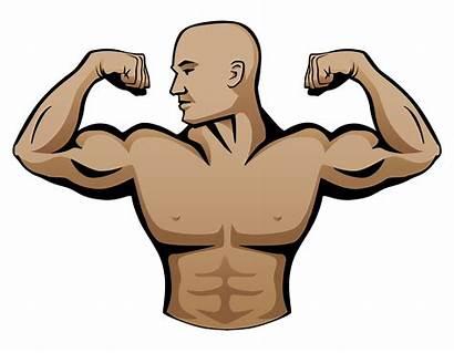Male Builder Vector Illustration Buff Clip Masculine