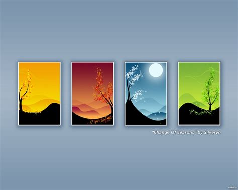 saisons fonds decran  telecharger creations