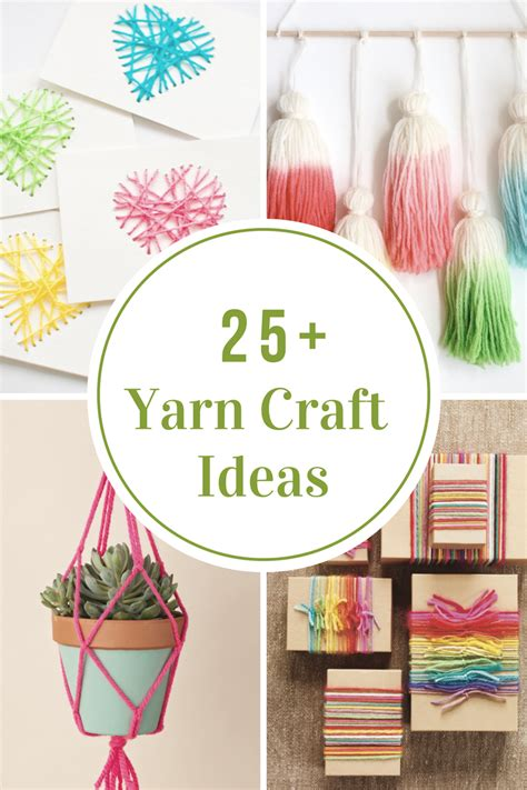 yarn craft ideas the idea room