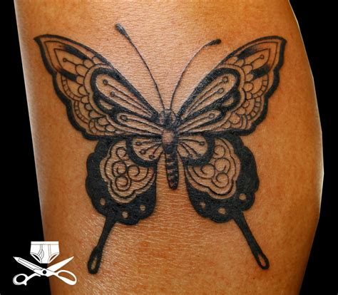 large black butterfly design tattooshuntcom