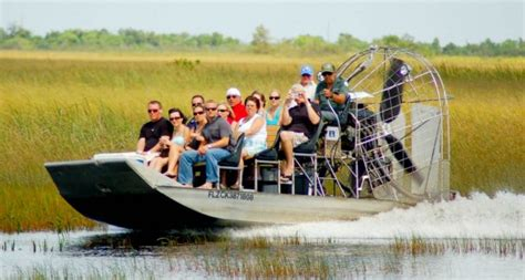 Fan Boat Ride Miami by Visit The Everglades Like A Tourist On An Airboat And Eat