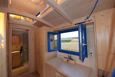 Tiny Häuser Innen by Bauwagen Innen Innenausbau Vom Bauwagen
