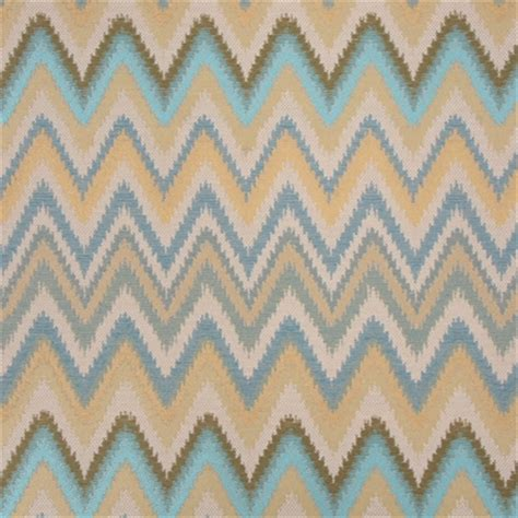 Zig Zag Upholstery Fabric by Sawtooth Agean Woven Zig Zag Stripe Upholstery Fabric