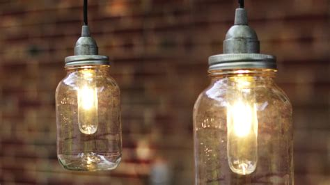 diy jar pendant lights diy