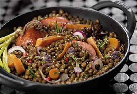 lentille cuisine recette lentilles saucisse express les fruits et l 233 gumes frais