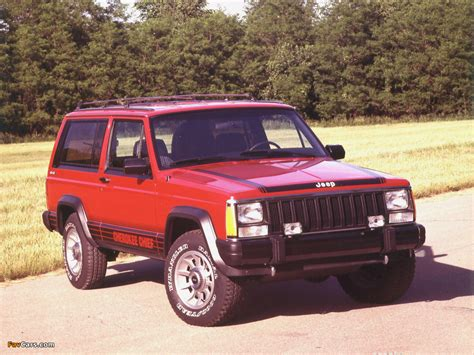 jeep cherokee chief xj wallpapers of jeep cherokee chief xj 1984 88 1024x768