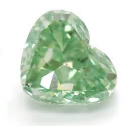 Green Diamond Heart