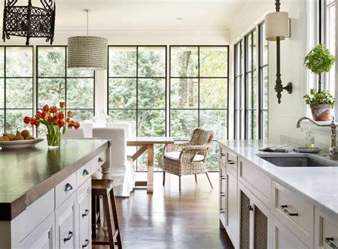 beautiful designs framed  black window trims