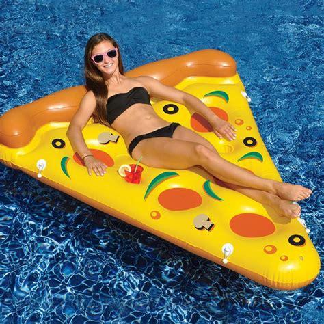 swimline pool pizza slice kids floats lounges