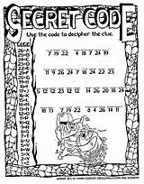 Spy Secret Coloring Theatre Code Word Printable Sheets Codes Pages Activities Searches Dinner Words Toronto Party Puzzle Sketch Colouring Preschool sketch template