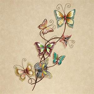butterfly array metal wall art With butterfly wall art