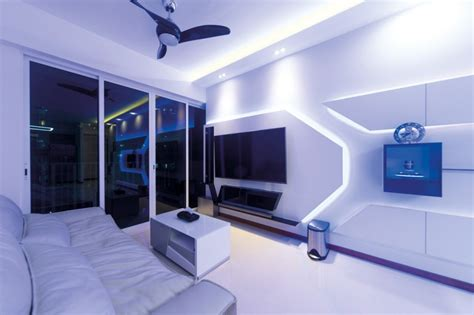 dual key executive apartment  futuristic design