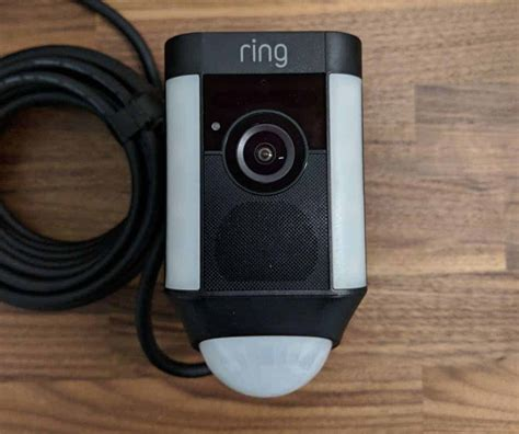 ring spotlight cam wired review   blog