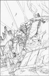 Darkhawk sketch template